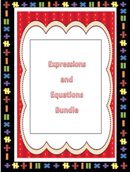 EVERYTHING Expressions and Equations!