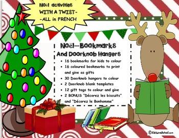 Christmas/EVERYTHING Noel--Make Bookmarks,Doorknob Hangers