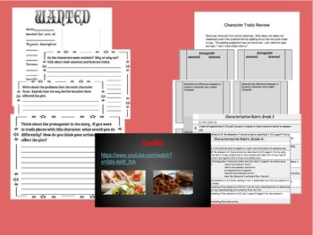 EVERYTHING you need to teach characterization!