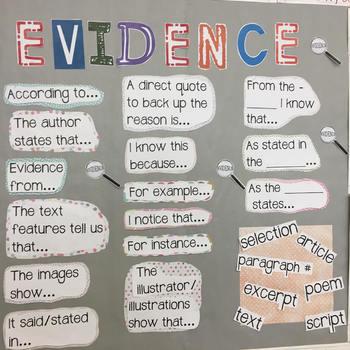 EVIDENCE Bulletin Board