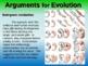 EVOLUTION VS CREATION (PART 2: ARGUMENTS FOR EVOLUTION) en