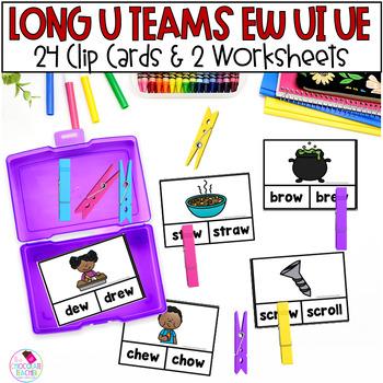 EW, UE, UI Clip Cards