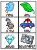 EW UE UI Pocket Chart Centers and Materials