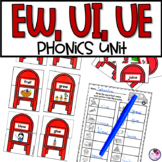 EW, UI, UE Phonics Activities