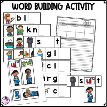EW, UE, UI Worksheets & Activities
