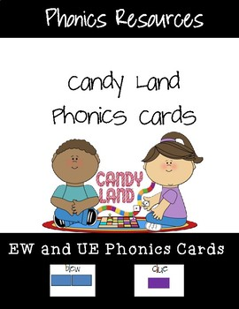 EW and EU Candy Land Cards