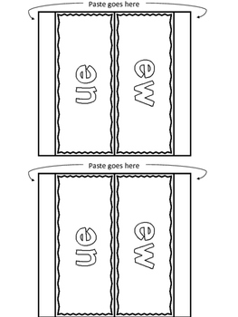 EW and UE (Long U) - Printables