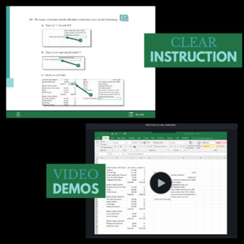 EXCEL 2016 - Catering Invoice - More on Formulas