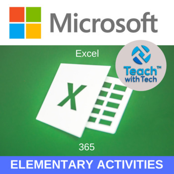 EXCEL OFFICE 365 Elementary Lessons & Activities UPDATED 2018