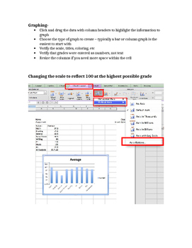 EXCEL: Graph Your Grades: Math & Technology: Grades 3-8