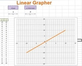 EXCEL ~Single Line Linear Grapher