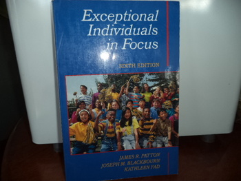 EXCEPTIONAL INDIVIDUALS IN FOCUS  ISBN0-13-502352-1