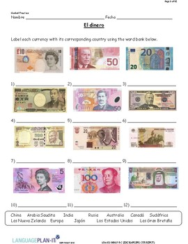 EXCHANGING CURRENCY (SPANISH)