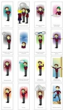 EXCITING Habits Of Mind Posters