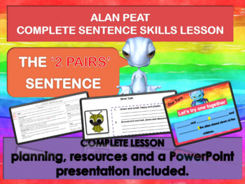 EXCITING SENTENCES - 2 PAIRS - COMPLETE LESSON