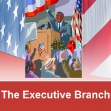 EXECUTIVE BRANCH: powerpoint & cloze notes sheets
