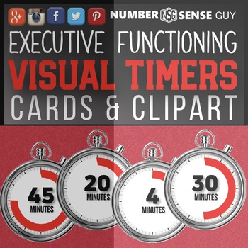 EXECUTIVE FUNCTIONING VISUAL TIMERS