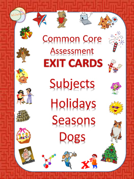 EXIT CARDS FOR ALL SUBJECTS