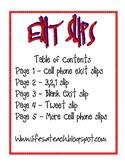 EXIT Slips Pack