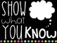 EXIT TICKET ~ SHOW WHAT YOU KNOW [w/ Post-it Notes]