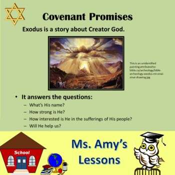 Ancient Hebrew Civilization: EXODUS Slavery and Deliverance PowerPoint