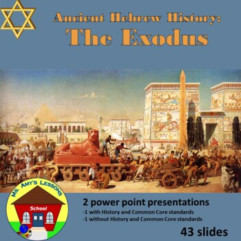 Ancient Hebrew Civilization: EXODUS Slavery and Deliveranc