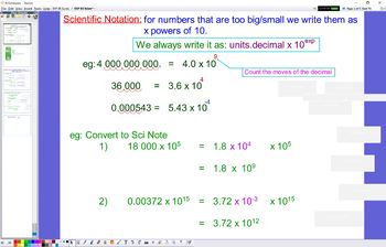 EXP 03 Scientific Notation
