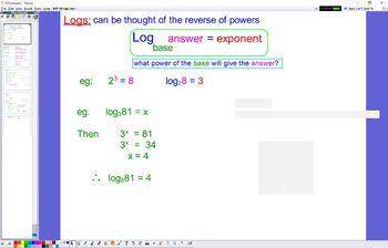 EXP 10 Log Laws