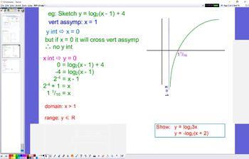 EXP 12 Log Graphs