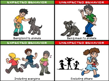 EXPECTED AND UNEXPECTED BEHAVIOR CARDS