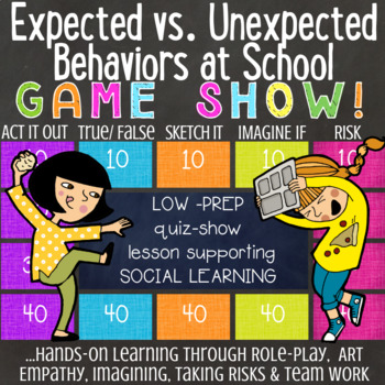 EXPECTED VS UNEXPECTED BEHAVIORS AT SCHOOL: Social Skills Counseling Lesson
