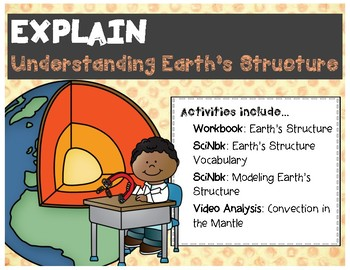 Explaining Earth's Layers -- 5E Activity Bundle (NGSS HS-ESS2-3)