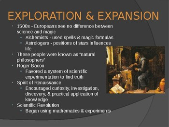 EXPLORATION & EXPANSION