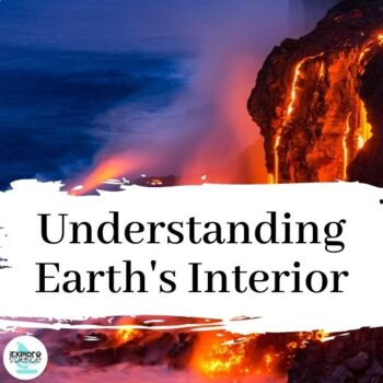 EXPLORE BUNDLE: Earth's Structure - NGSS Aligned, 5E Based, Student Centered