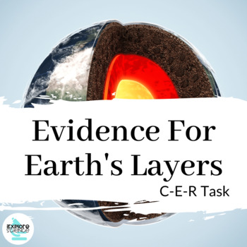 Evidence For Earth's Layers - CER Engaging In Argument (HS-ESS2-3)