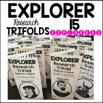 EXPLORER RESEARCH TRIFOLDS