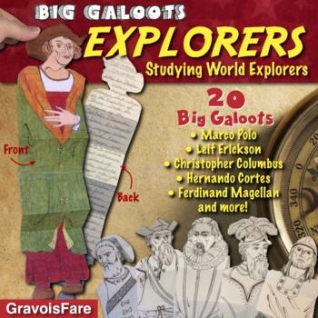 EXPLORERS: Studying Ten World Explorers--Big Galoots Foldables