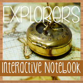 EXPLORERS of North America -Social Studies Notebooking- With Reading Passages!