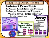 {ARRAYS} EXPLORING ARRAYS {BUNDLE} { 2 Interactive Power P