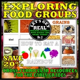 Foods and Nutrition: EXPLORING FOOD GROUPS BUNDLE