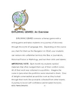 EXPLORING GENRES: Mythology and Comic Strip