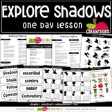 EXPLORING SHADOWS Preschool PreK Kindergarten 1-Day Lesson Plan