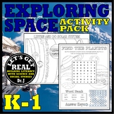 EXPLORING SPACE Activity Pack for Grades K-1