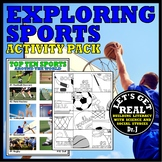 EXPLORING SPORTS ACTIVITY PACK