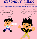 Smartboard Math Lessons and Activities EXPONENT RULES