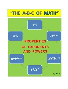 EXPONENTS AND POWERS, Properties