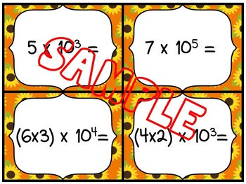 EXPONENTS: MULTIPLYING EXPONENTS WITH BASE 10 NUMBERS
