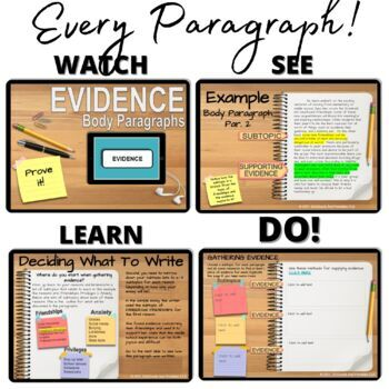 EXPOSITORY ESSAY: COMPLETE COURSE: Paperless or Printable:Google Classroom Ready