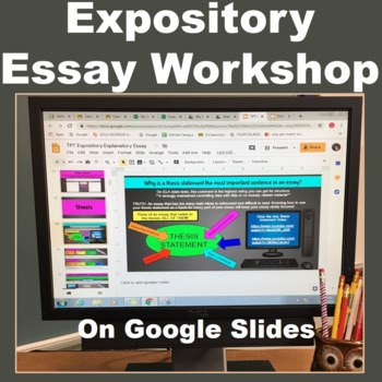 EXPOSITORY ESSAY: PDF Complete Course - Google Classroom Link PRINT OR PAPERLESS
