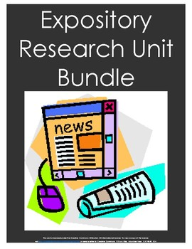 EXPOSITORY RESEARCH PROGRESSIVE UNIT BUNDLE-EARLY BIRD SPECIAL!!!
